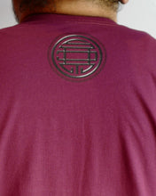 Load image into Gallery viewer, SDT Lettering Maroon Tee