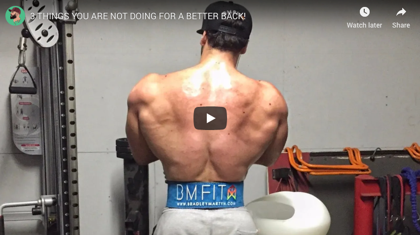 3 Things YOU Are Not Doing For a Better Back!