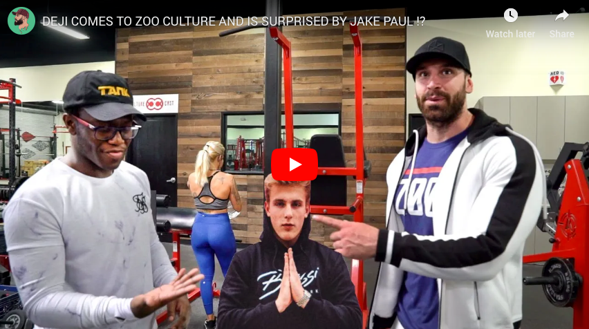 Deji Comes to ZOO Culture and is surprised by...⁉️