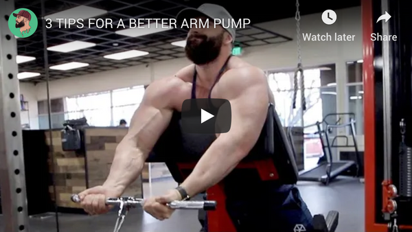 3 Tips For A Better Arm Pump