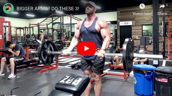 3 Moves To Bigger Arms