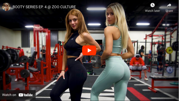 BOOTY SERIES EP. 4 @ ZOO CULTURE | Noelle Leyva YouTube