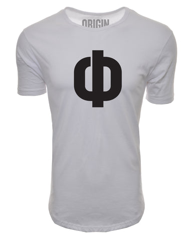 Origin Performance Elongated Tee - White - Origin Supps