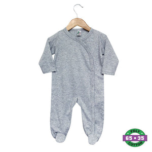 Snap Button Coverall 65% Poly