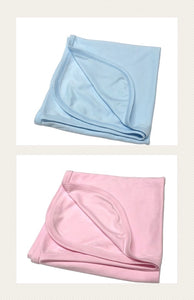 Infant Pastel Receiving Blankets- 65% Polyester