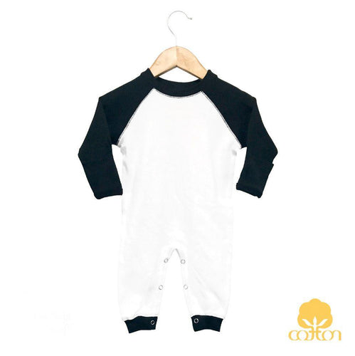Raglan Sleep & Play- 100% Cotton