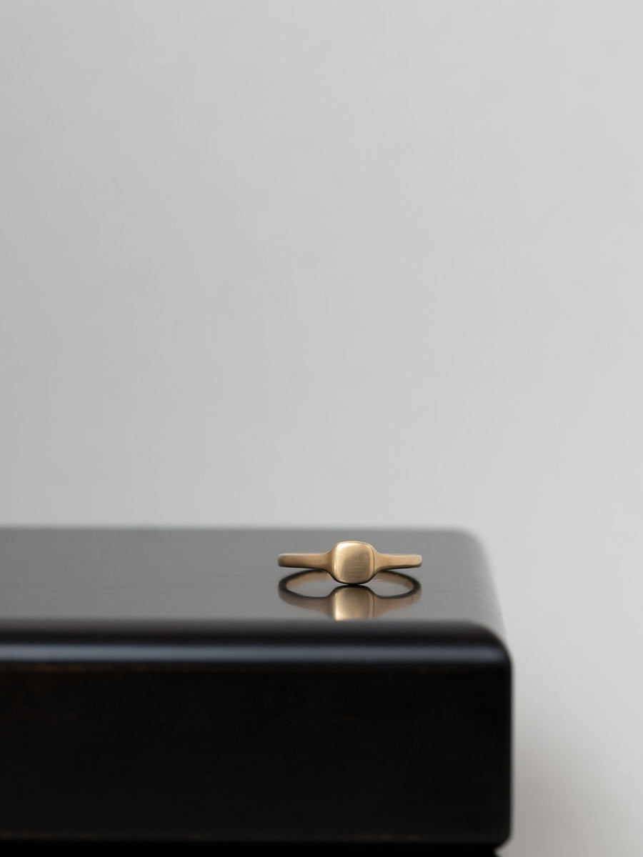 Signet square ring S