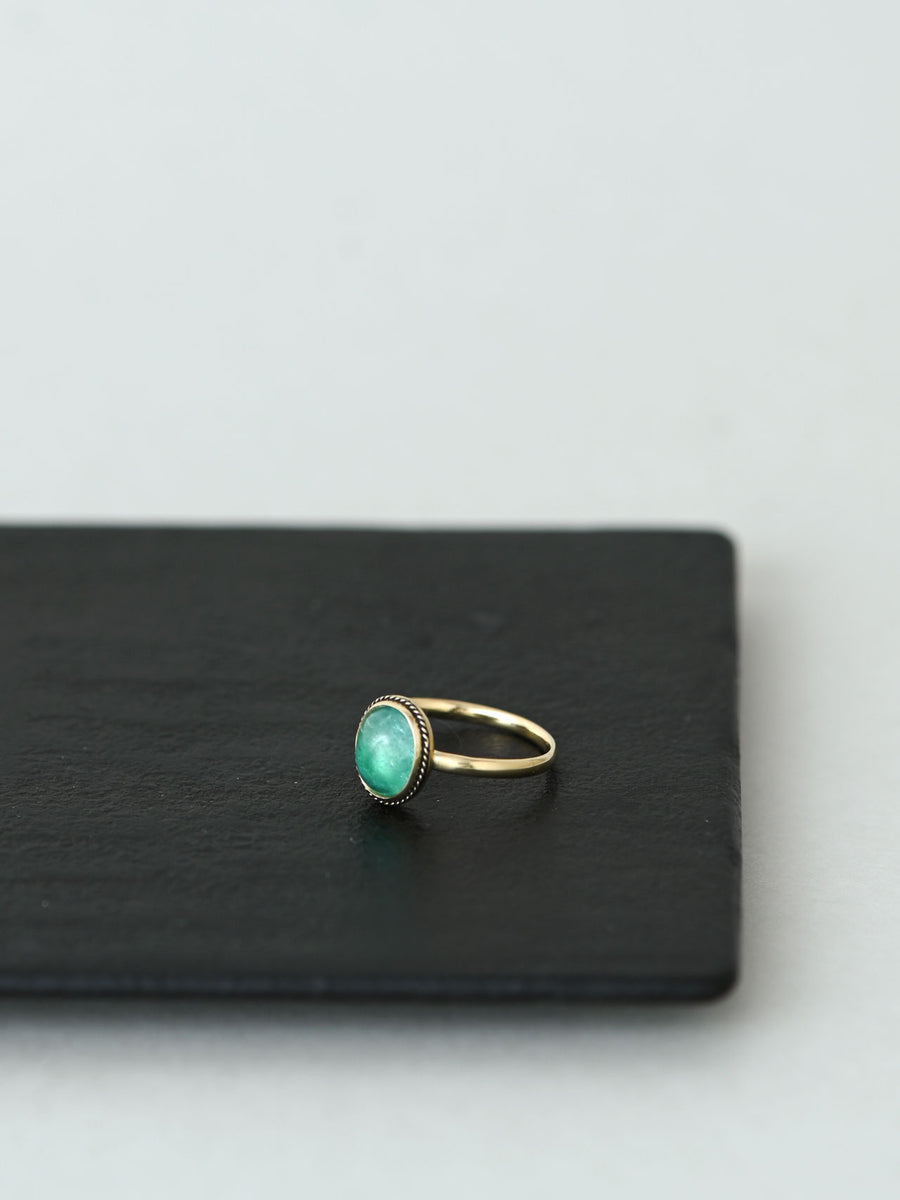 Special Order Emerald ring 7