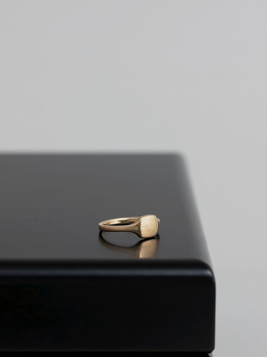 Signet square ring M