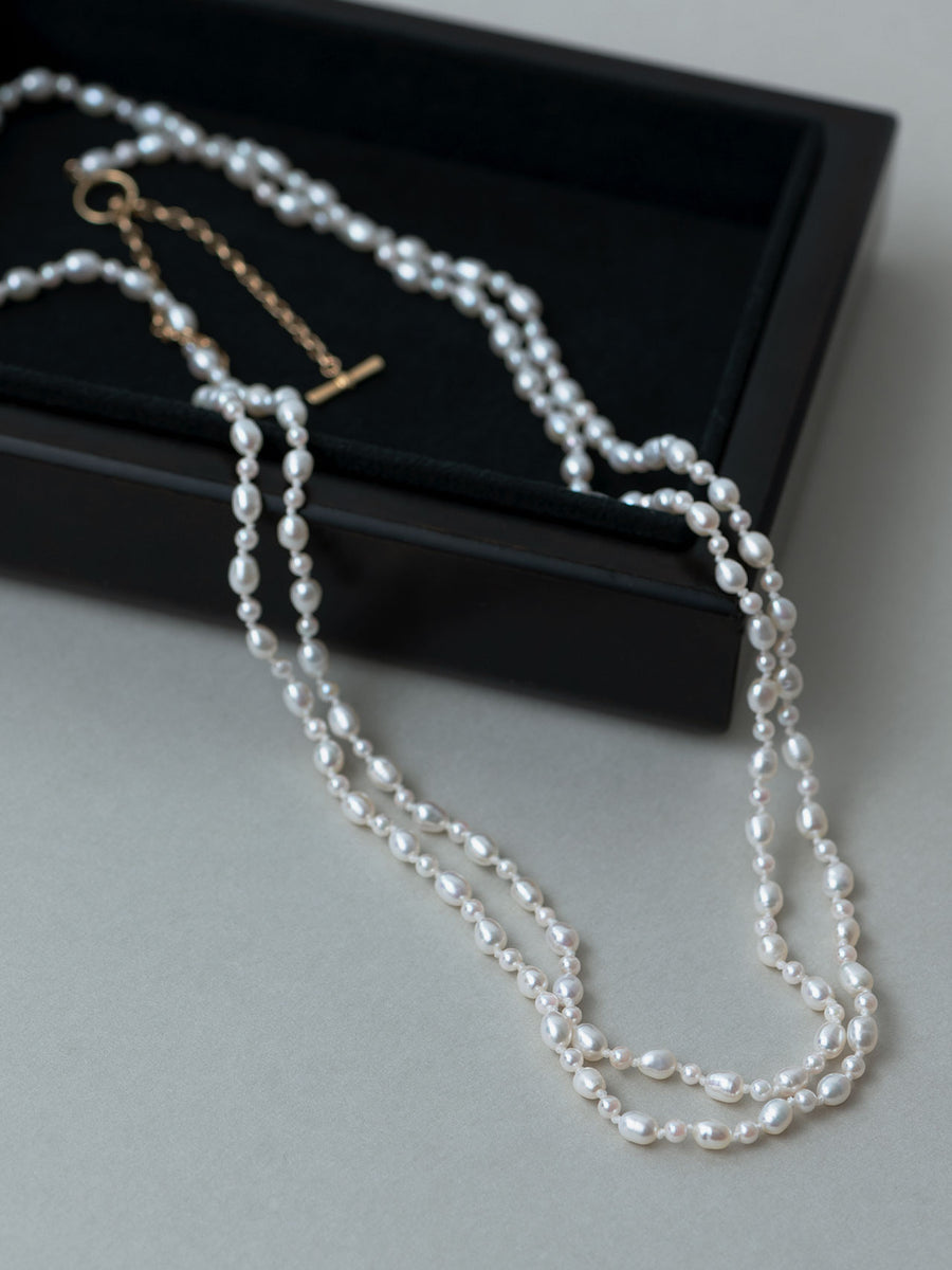 Pearl long necklace Ⅱ