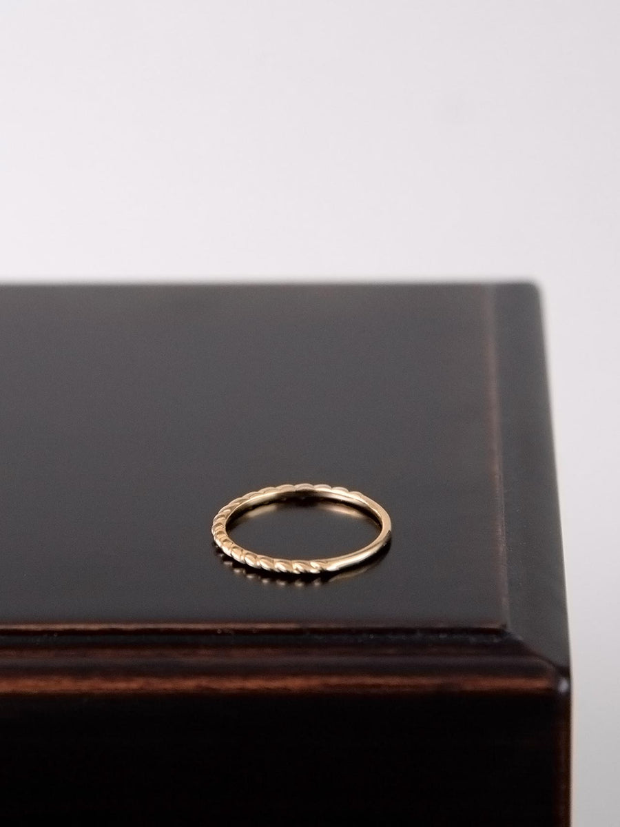 Plain twist ring S