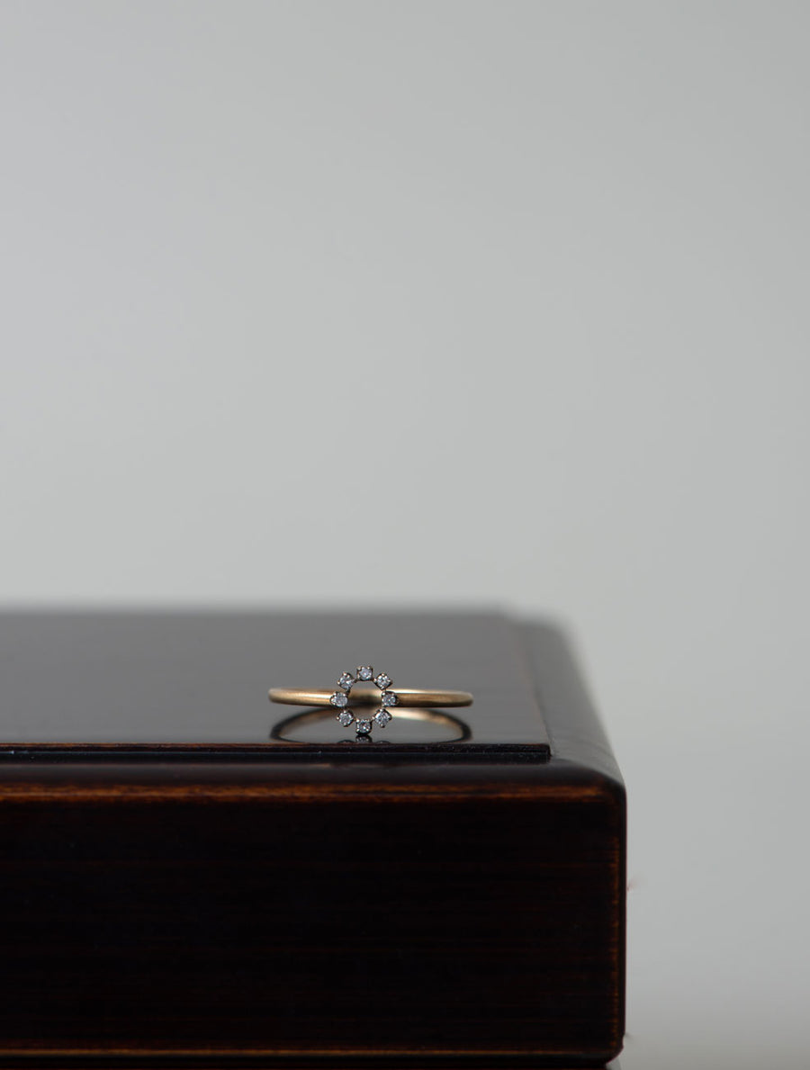 Tiny diamond ring Ⅴ