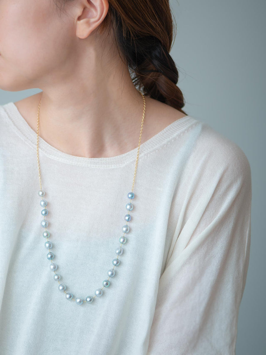 Pearl middle necklace Ⅱ