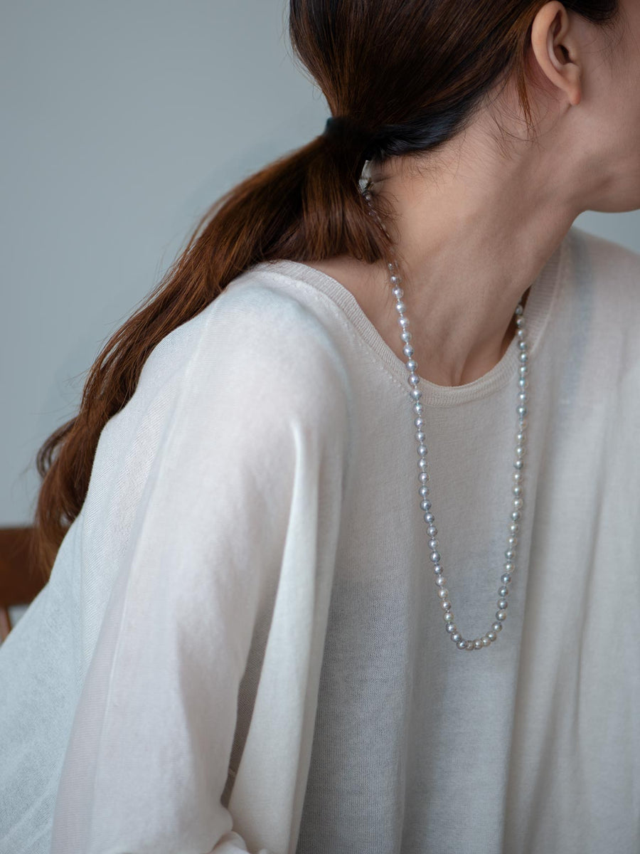 Pearl middle necklace Ⅰ