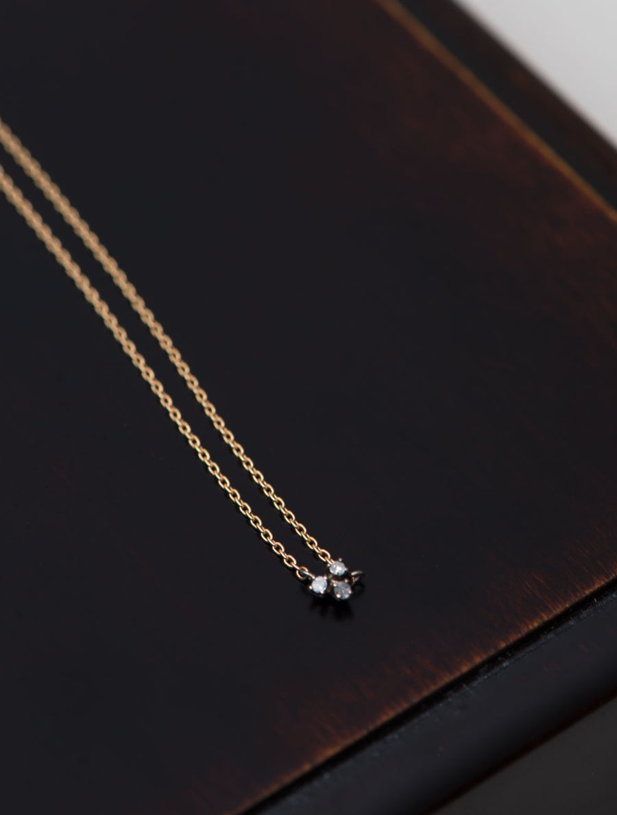 Tiny diamond necklace Ⅰ