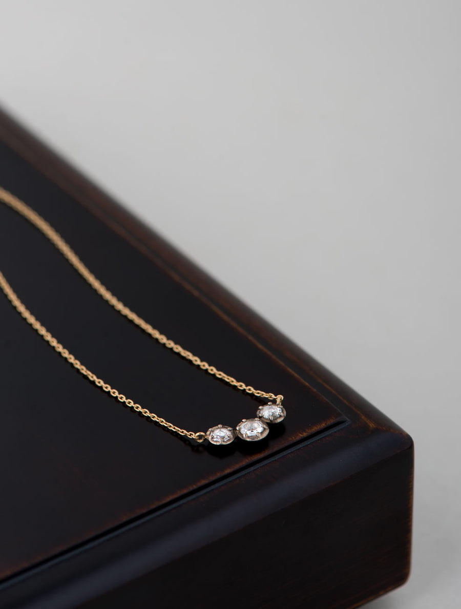 Rosier trio necklace