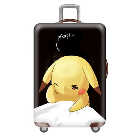 Luggage Cover (Sleeping Pikachu, Newborn Cat and Devil Little Monster)