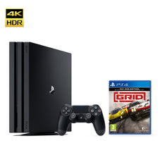 PS4 Pro Console 1TB Black Refurbished + 1 Game
