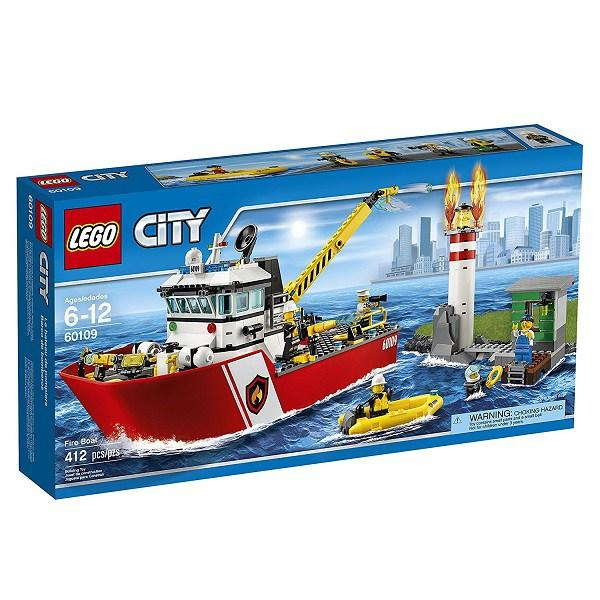 Lego City Fire Boat -60109