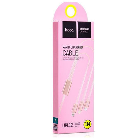 Hoco Rapid Charging Cable UPL12 - Pink