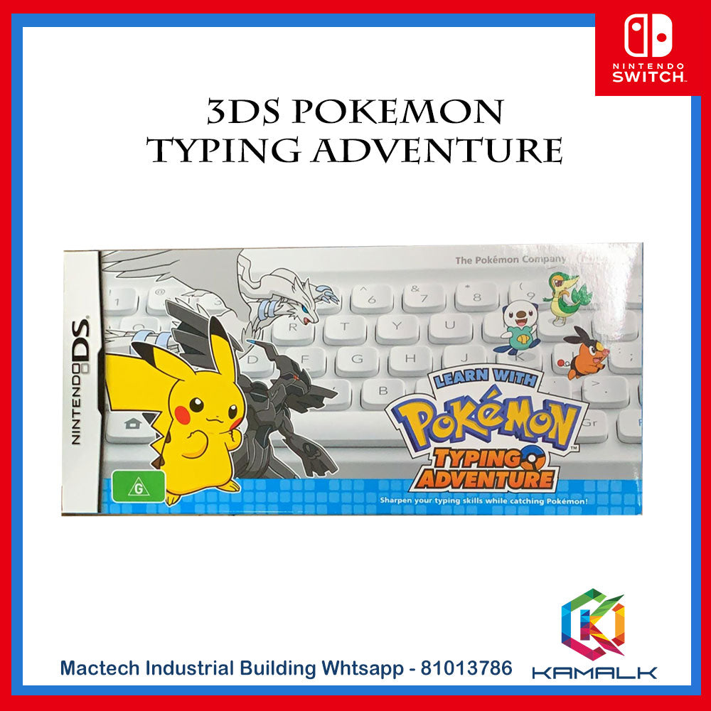 NDS Learn with Pokemon: Typing Adventure I057
