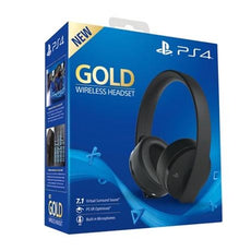 Playstation 4 Gold Wireless Headset Export Set (Black)