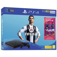 PS4 500GB Fifa 19 Bundle (Export Set)