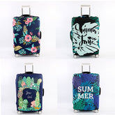 Luggage Cover (Summer, Flowers, Forest, Swimming)