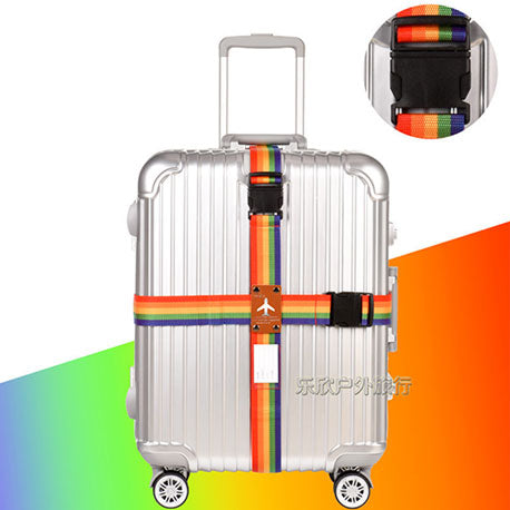Rainbow Travel Luggage Strap / Belt