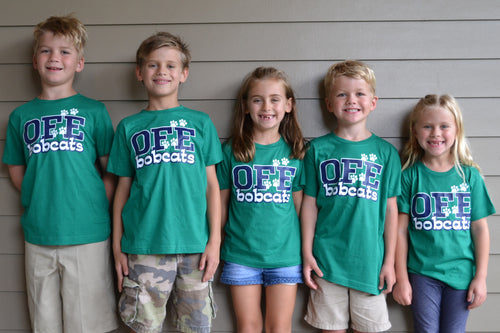 *SPIRIT WEEK SALE* - OFE Green Spirit Shirt- Small Font