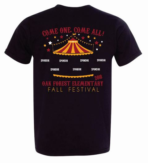 2018 Fall Festival Dry-Fit T-Shirt
