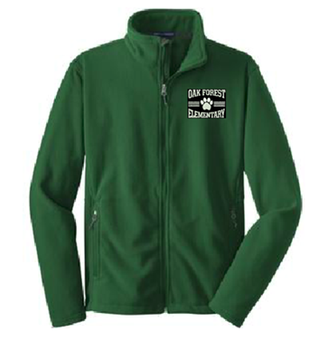 OFE Hunter Green Fleece Jacket - LIMITED QUANTITY