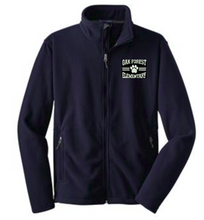 Load image into Gallery viewer, OFE Navy Blue Fleece Jacket