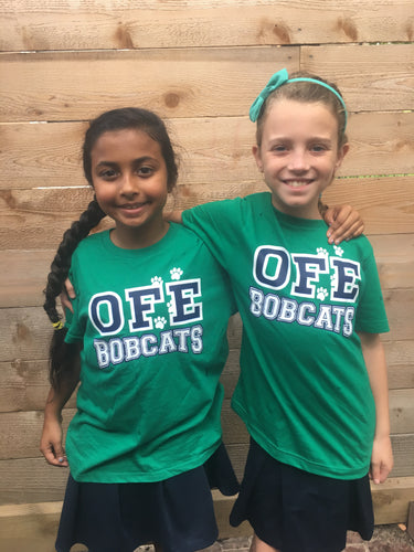 OFE Green Spirit Shirt- Large Font