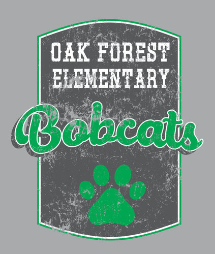 Oak Forest Bobcat Hooded Sweatshirt - *NEW ITEM*