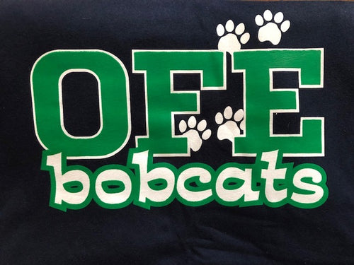 *SPIRIT WEEK SALE* - OFE Navy Spirit Shirt Small Font