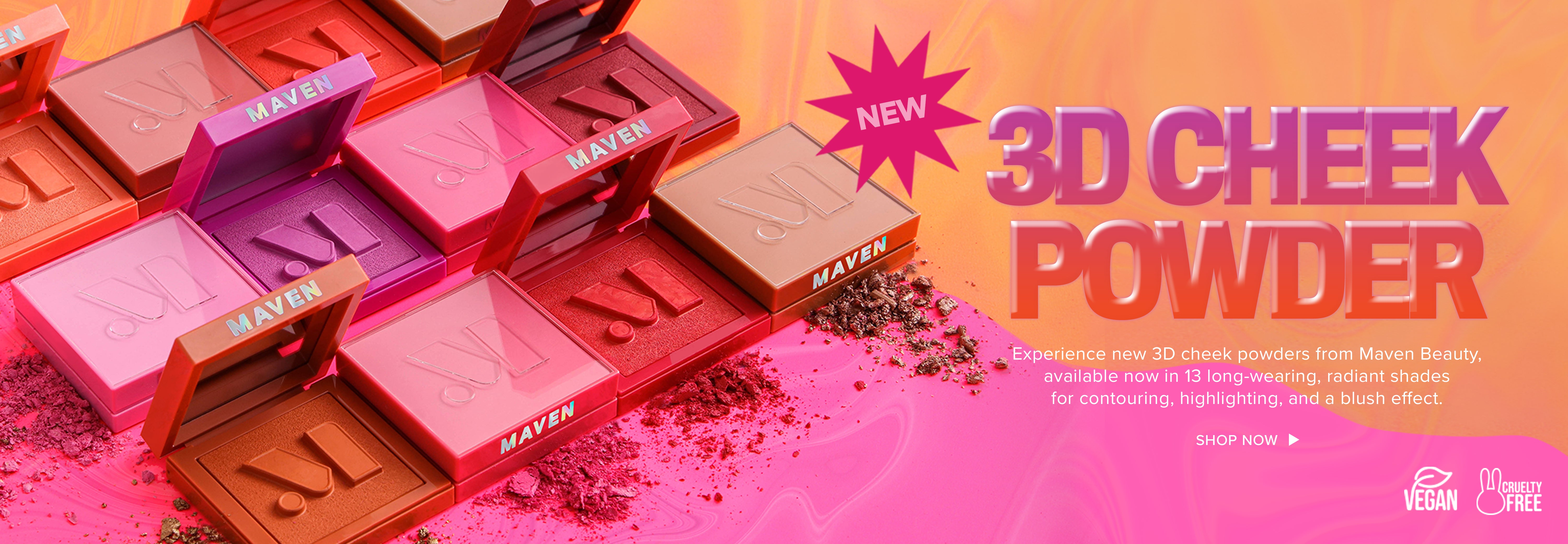 Maven Beauty is pro-level makeup for everyone - for the dreamers & the doers.