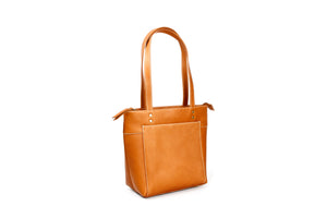 """Canelazo"" Tote Leather Bag"