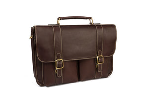 """Late"" Leather Briefcase"