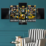Green Bay Packers Team Canvas *50% Off!*