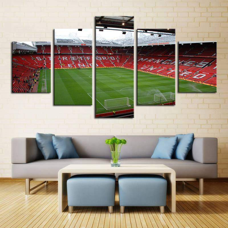 Old Trafford Panoramic HD Canvas