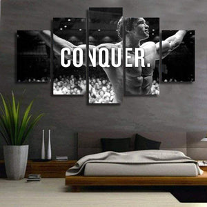 CONQUER 5 Piece HD Canvas