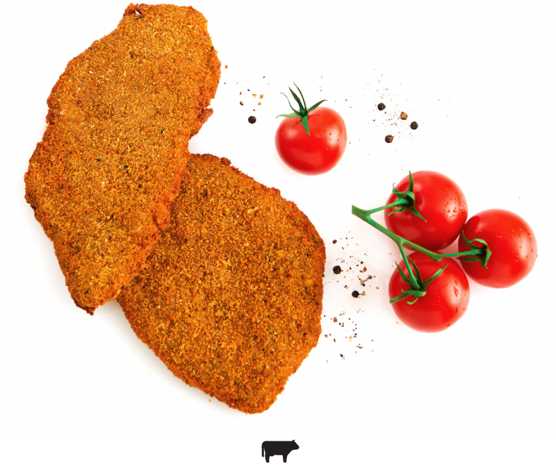 BEEF MILANESE - EYE ROUND / MILANESA DE CARNE-PECETO (APPROX. 11 UNITS)