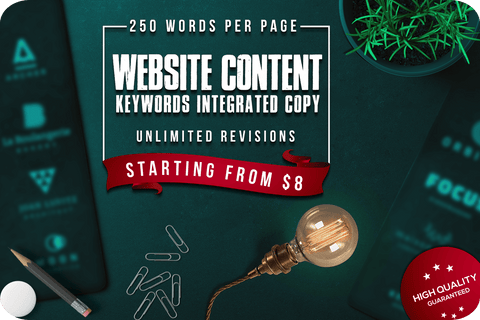 Image of Website Content Writing Services