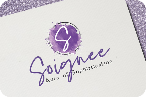 Image of feminine logo design