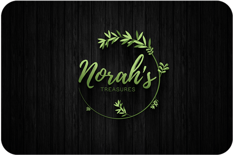 Image of green floral logo design