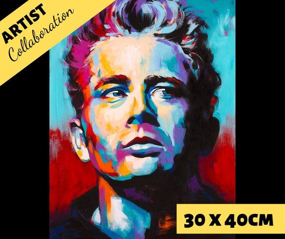 DEAN by Jack Magurany Diamond Painting DIY Kit 30 x 40 cm FULL DRILL - DIYMoon Shop