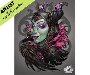 MISTRESS OF EVIL By Medusa The Dollmaker Diamond Painting DIY Kit 60 x 75 cm FULL DRILL Round Beads with CRYSTALS