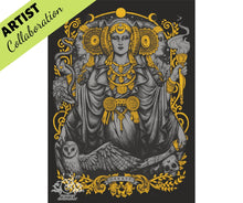 IBERIAN HECATE By Medusa The Dollmaker Diamond Painting DIY Kit 30 x 40 cm FULL DRILL Round Beads with ELECTRIC DIAMONDS