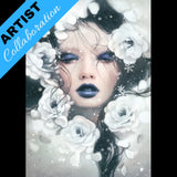 FROST By ANNA DITTMANN Diamond Painting DIY Kit 60 x 42 cm FULL DRILL Round Beads - DIYMoon Shop